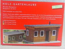 Gartenlaube aus Holz - Busch HO Lasercut Bausatz 1:87 - 1394 #E