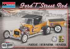 Revell Monogram 1/24 Ford T Street Rod Plastic Model Kit 85-4336
