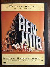 Ben-Hur Standard Dvd Viewed Once Adult Owned Charlton Heston Nm Older Packaging