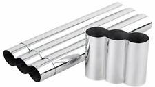 Quality Importers - 3 Stick Cigar Tube - Chrome - CT-3S