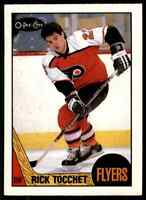 1987-88 O-Pee-Chee Rick Tocchet Rookie #2