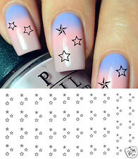Star Cluster Nail Art Waterslide Decals - Salon Quality!
