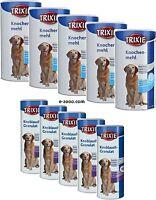 Trixie Knochenmehl & Knoblauch-Granulat für Hunde, 5 x 400 g Sparpaket