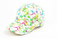 New Unisex Paint Splatter Print Splatoon Style Baseball Cap #410HC
