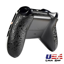 Textured Black Panels Side Rail Handle Replacement Part for Xbox One Controller
