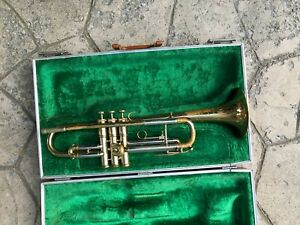 Used Besson 2-20 Bb Trumpet & Case - 1617 - Repaired and Ready