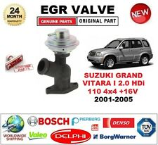 FOR SUZUKI GRAND VITARA 2.0 HDi 110 4x4 +16V 109bhp 2001-05 Pneumatic EGR VALVE