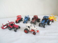 1/64 TRACTORS & IMPLEMENTS *Case *AC *Ford *Hesston *Farm Toy