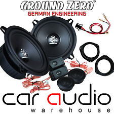 Vauxhall Astra G MK4 Ground Zero 280 W Pair Component Front Door Car Speaker Kit