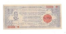 Philippines Emergency Guerrilla Currency 2 Pesos Negros - # 515559