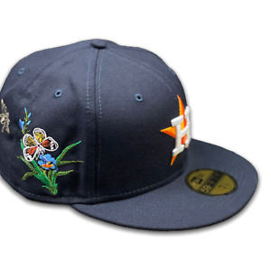New Era x FELT Houston Astros Fitted Hat Size 7 1/4 For Every Living Thing