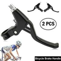 1 Pair Aluminium Alloy Mountain Bicycle Bike Handle Brake Lever Right & Left Set