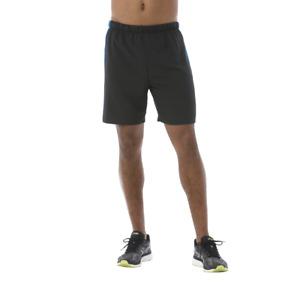 Asics Men's Running Shorts 7 Inch Sports Shorts - Black/Thunder Blue - New