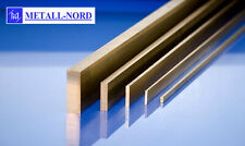 Messing Flachmaterial 8x4 - 80x40mm Flachstange CuZn39Pb3 MS58 CW614N Stab Flach