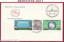 ITALIA FDC CAVALLINO LAVORO ITALIANO NEL MONDO 1982 ANNULLO TORINO U631