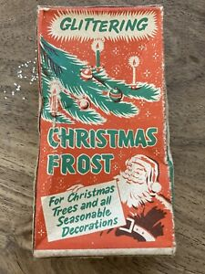 Vintage Phoenix Products Glittering Christmas Frost in box