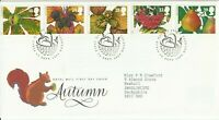 14 SEPTEMBER 1993 AUTUMN ROYAL MAIL FIRST DAY COVER TAUNTON SHS (l)