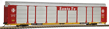 WALTHERS 932-4873 THRALL 89' TRI-LEVEL AUTO CARRIER SANTA FE-TRAILER TRAIN