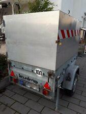 PKW Anhänger Brenderup 600kg ungebremst, Festaufbau