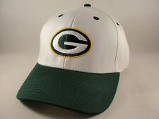 Green Bay Packers NFL Adjustable Strap Hat Cap White Green