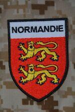 écusson patch blason Normandie Le Havre Évreux Dieppe Lisieux Fécamp Flers