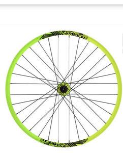 NS Bikes 27.5'', Rear wheel w/Rotary 150/157x12 lemon lime