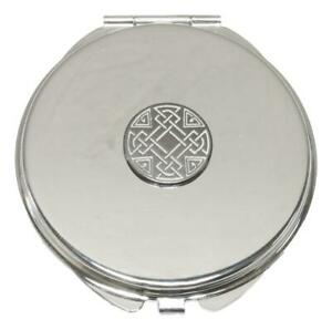 Celtic Knot Compact Mirror Handbag Gift With Free Engraving 68