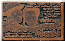 Judy Canova Dennis Day Ruth Donnelly Printing Block Movieblock Sleepy Lagoon