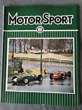 Motor Sport Magazine  May 1962 Hill BRM Wins Brussels F1 GP BMW 700 Test Lombank