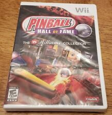 Pinball Hall of Fame: The Williams Collection (Nintendo Wii, 2008) NEW