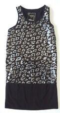 Girl's Hooch top black color black/silver sequin details 12 -13 years worn once