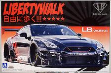 Aoshima 055922 2014 Nissan Skyline R 35 LB Works Typ 2 Vers. 2 JDM 1:24