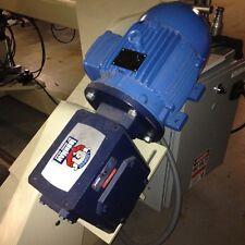 WEG 00109EP3E182T 3-Phase 1 HP Motor 208-230/460 V, 875 RPM / Ironman Gearbox