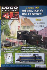 MODELISME FERROVIAIRE TRAIN MAGAZINE LOCO REVUE N° 718 de 2007