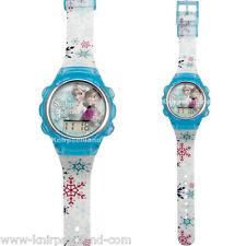 Disney Armband Uhr Analog Kinderuhr Frozen Kinder Silikon Armbanduhr Elsa D3