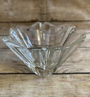 """ORREFORS """"Orion"""" Crystal Bowl SWEDISH ART GLASS 3.5"""" Tall by 5.75"""" Wide"""