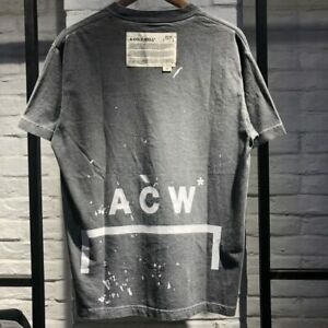 BEST Quality A-COLD-WALL ACW T-Shirts Men Women CottonShort Loose TopTees Casual