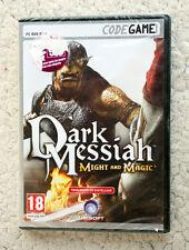 PC DVD-ROM: DARK MESSIAH, MIGHT & MAGIC. PAL, WINDOWS XP, CASTELLANO, NUEVO!