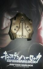 1/6 Hot Toys Space Captain Harlock MMS222 Gold Colored Armor Vest