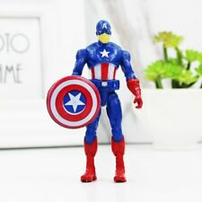 New Captain America Super Hero Action Figures Kids Christmas Toy Free Shipping