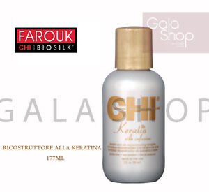 CHI SILK INFUSION RECONSTRUCTIVE FOR HAIR KERATIN WITH FLAVOURS PROTEINS OF SOY
