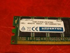 Hypertec 1 GB PC2700 DDR 333 184 pin DIMM RAM 311-2077-HY GX270 Dell HP GX260