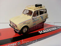 "Slot SCX Scalextric A10221S300 Renault 4L Michele Ray ""Tierra de Fuego"""