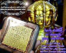 Call Money Rich Billionaire Yant Arjarn O Thai Amulet Bring Luck Wealth Magic