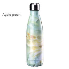 500 ML 2 * Water Bottle Vacuum Insulated Flask Thermal Sport Chilly Cold Cups UK