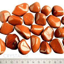 200 g Roter Jaspis, Trommelsteine 3 - 4,5cm Top!!!