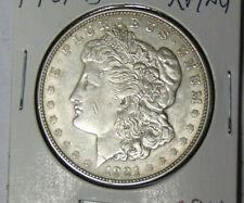 1921-D Morgan Silver Dollar XF/AU Only Year Denver Struck Morgan Dollars