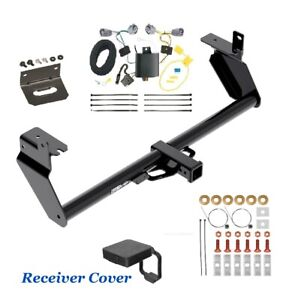 Trailer Hitch & Wiring Kit Deluxe for 2014-2018 JEEP CHEROKEE except TRAIL & V6