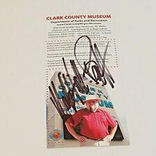 Pawn Stars Mark Hall-Patton Autograph Clark County Museum Las Vegas Color Photo