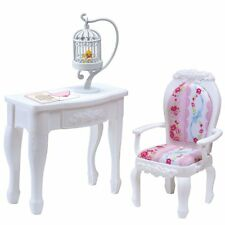 Takara Tomy Licca Doll Princess Chair & Table (doll not included) Japan